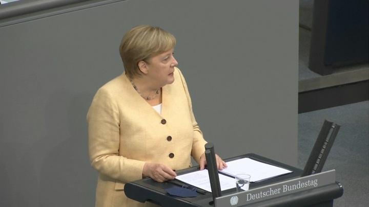 """Меркель стала плюшевым мишкой, президент ФРГ может """"позеленеть"""""""