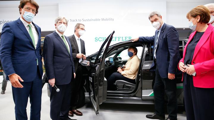 Электрокары доминируют на автосалоне в Мюнхене