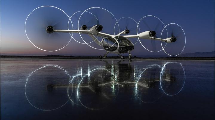 НАСА начало испытания воздушного такси