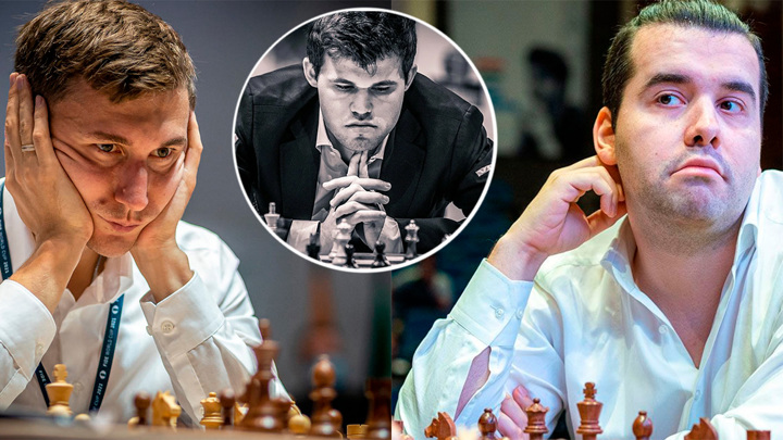 Шахматы. Непомнящий и Карякин против Карлсена