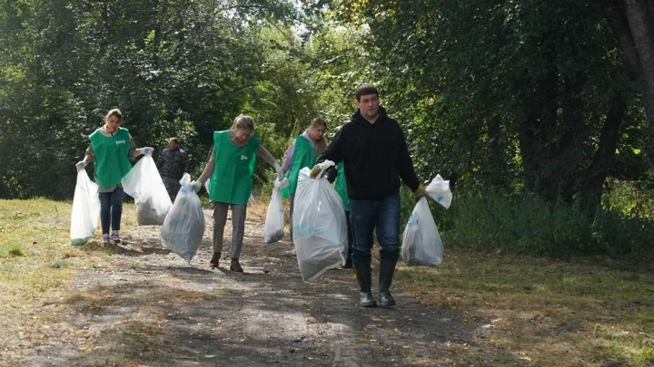 Кузбассовцы приняли участие в экологических субботниках