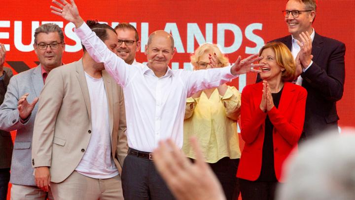 Шансы СДПГ на выборах канцлера Германии подросли