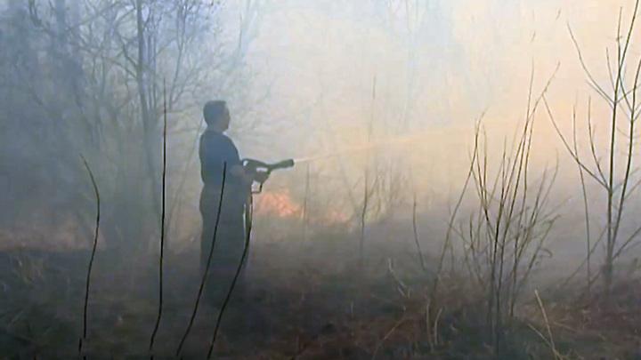 Противопожарный режим на территории Красноярского края снят