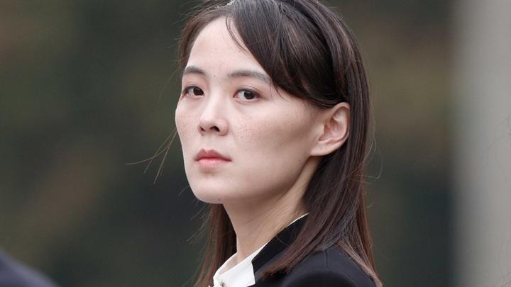Сестра Ким Чен Ына выступила с заявлением