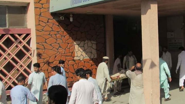 В афганском городе Джелалабаде провинции Нангархар прогремела серия взрывов.