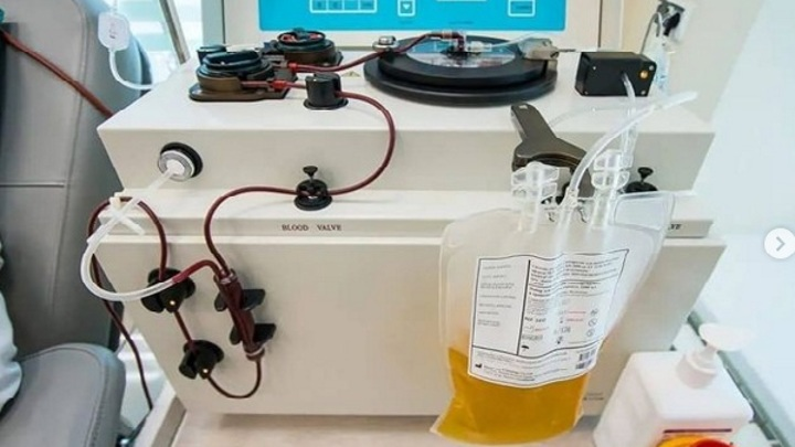 Оренбургские врачи провели заготовку аутологичной плазмы на выезде