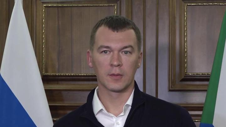 Церемония инаугурации Дегтярева состоялась в Хабаровске