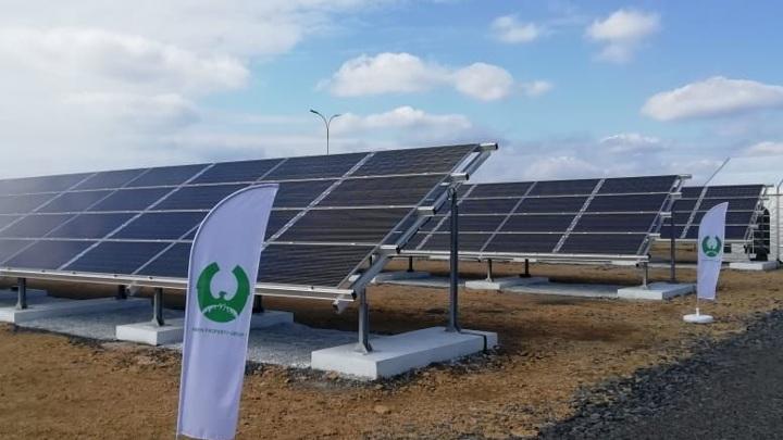 Первую солнечную электростанцию запустили в Ростовской области
