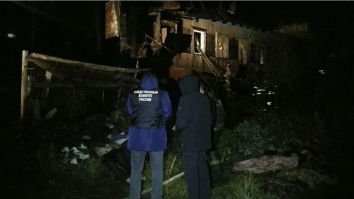 Пять человек погибли при пожаре дома в Петропавловске-Камчатском