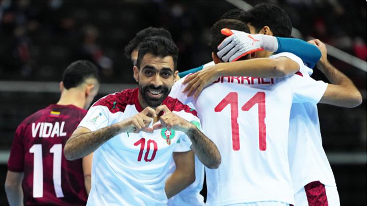 Мини-футбол. Сборная Марокко в четвертьфинале чемпионата мира