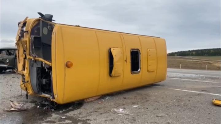 ДТП на иркутской трассе: детей спасли ремни безопасности