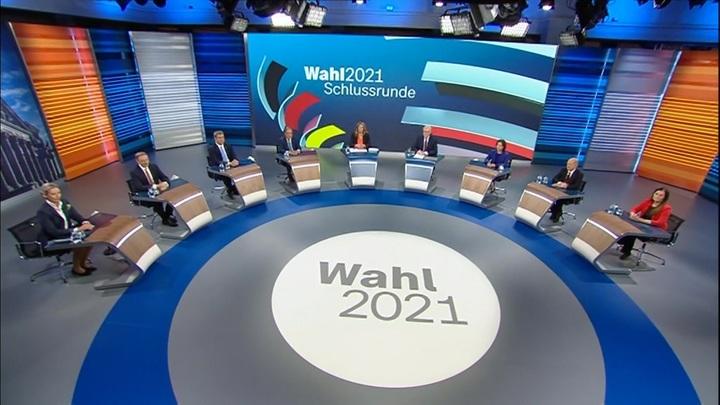 В Германии прошли заключительные предвыборные теледебаты