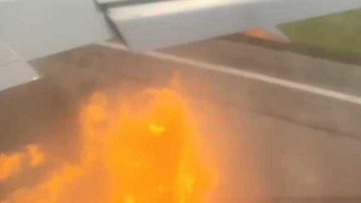 Два орла врезались в самолет с российскими туристами на Кубе