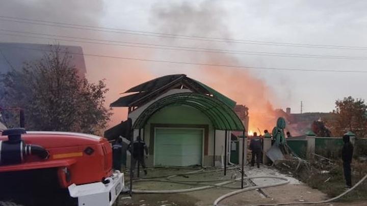 В Башкирии из-за самовольного подключения к газопроводу сгорел дом
