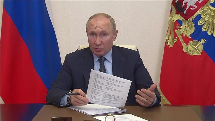Что сказал Путин лидерам партий, прошедших в Госдуму