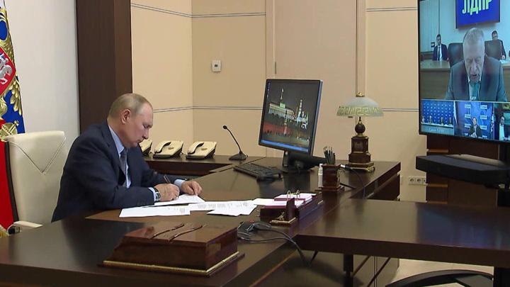 Путин призвал новый состав Госдумы работать сообща и всегда искать компромисс