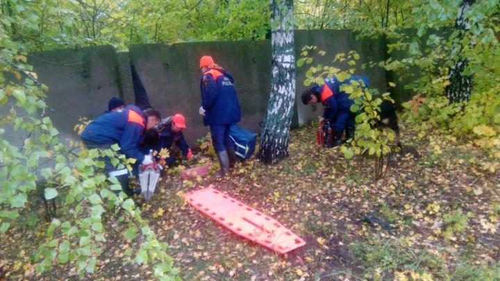 Пропавший в Татарстане мужчина застрял в заборе