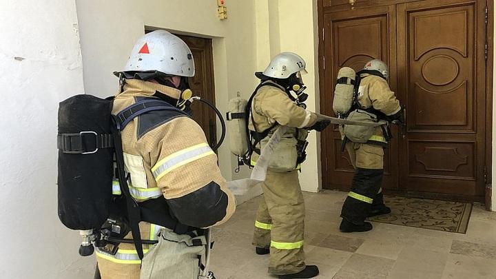 Масштабные учения МЧС прошли в Кемерове