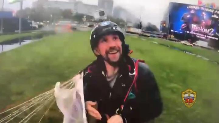 Задержан третий парашютист, спрыгнувший с московской высотки