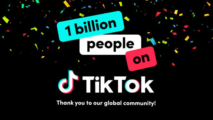 Аудитория TikTok превысила 1 миллиард пользователей