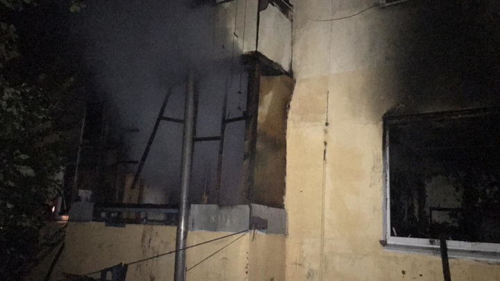 Под Самарой пожар унес жизни троих малолетних детей