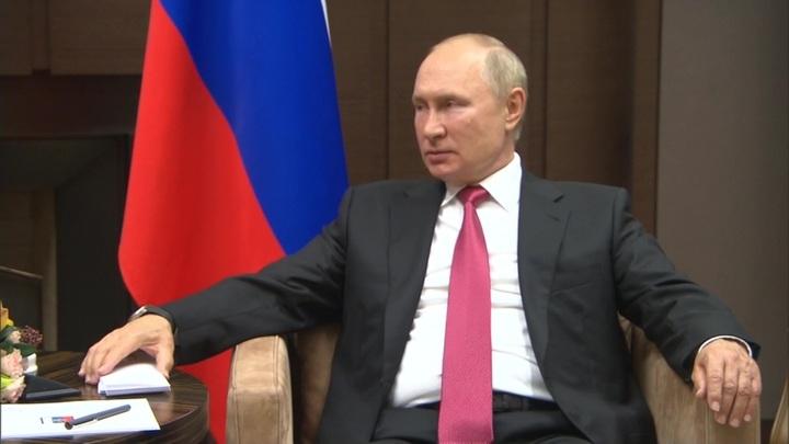 Путин рассказал, как ему повезло