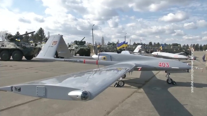 """Киев планирует использовать турецкие дроны, чтобы """"сдерживать Россию"""""""