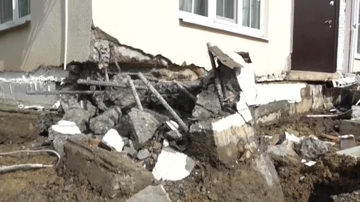 В Сочи восстановили подъезд к коттеджному поселку Сергей-Поле