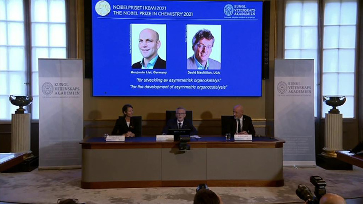 Нобелевку по химии дали за методы асимметрического органокатализа