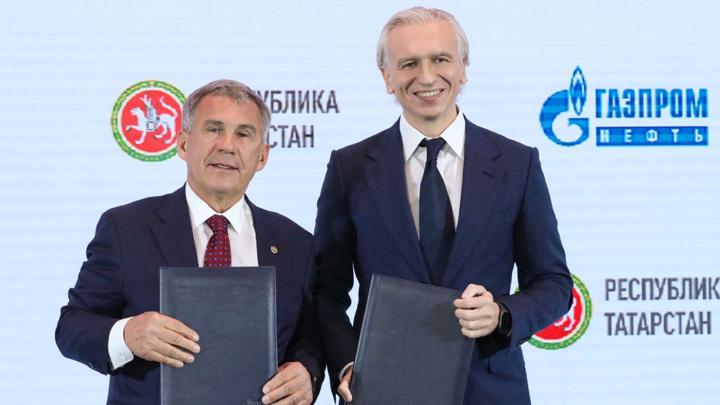 """""""Газпром нефть"""" и Татарстан расширяют сотрудничество"""