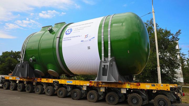 """""""Росатом"""" начал установку корпуса реактора АЭС """"Руппур"""" в Бангладеш"""
