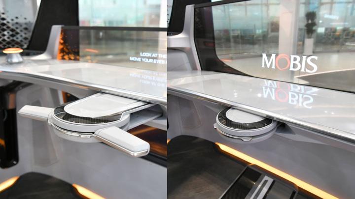 В Корее разработан складной руль для машины