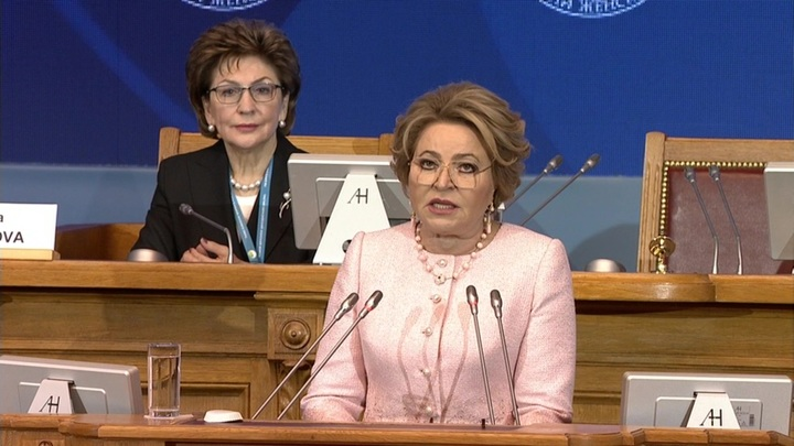 Успех женщин: предложение Матвиенко