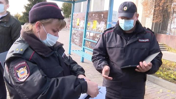 Усилены проверки масочного режима в вагонах московского метро