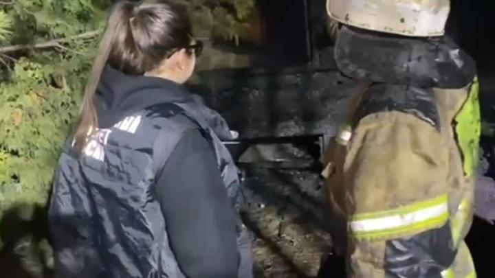 При пожаре в Кузбассе погибли трое детей
