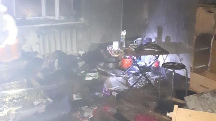 В Татарстане МЧС спасло 5 человек из пожара в многоэтажке