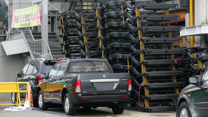 Автопром в Южной Корее сократился на треть из-за дефицита чипов