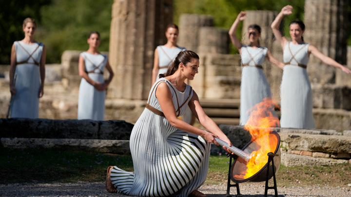 В Греции зажжен огонь зимних Олимпийских игр-2022