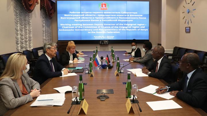 Волгоградскую область посетил посол Кении