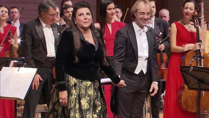 Мария Гулегина выступила в Московском Доме музыки