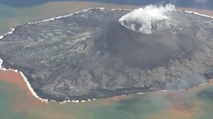 На юго-западе Японии произошло извержение вулкана Асо