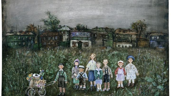 """Франческа Ярбусова """"Похороны птицы"""""""