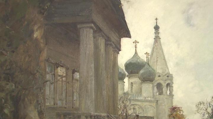 Выставка Олега Молчанова открылась в залах Российской академии художеств