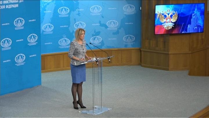 Захарова: заявления НАТО о диалоге лишены смысла после высылки российских дипломатов