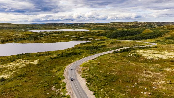 В Мурманской области уложили в 2021 году 1,3 млн кв. метров асфальта