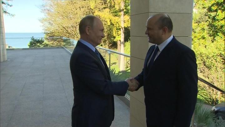Пять часов: Путин и Беннет провели конструктивные переговоры