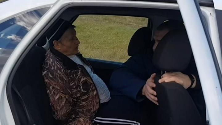 Подозреваемый в нападении на участкового пенсионер задержан под Брянском