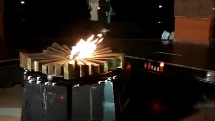 Вечный огонь снова зажегся в Кишиневе