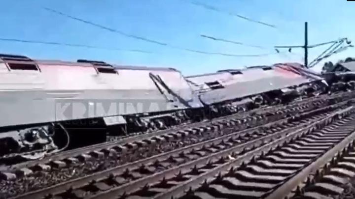 За рулем большегруза, въехавшего в поезд, был житель Благовещенска