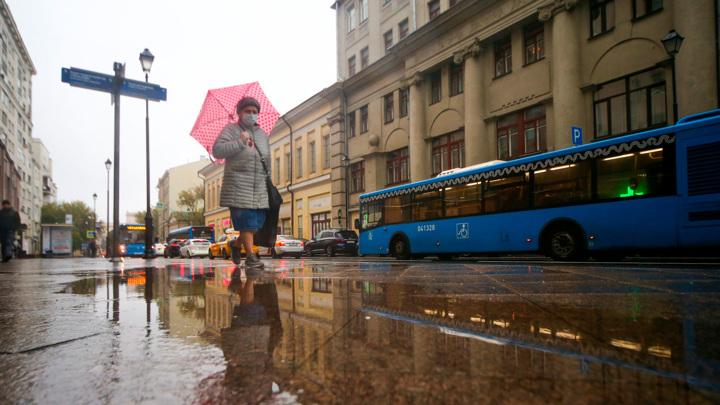 В Москве установилась погода с температурой на 3-4 градуса ниже нормы
